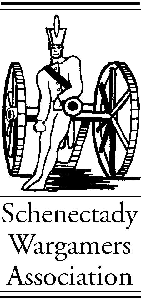 The Schenectady Wargamers Association - Artilleryman Logo