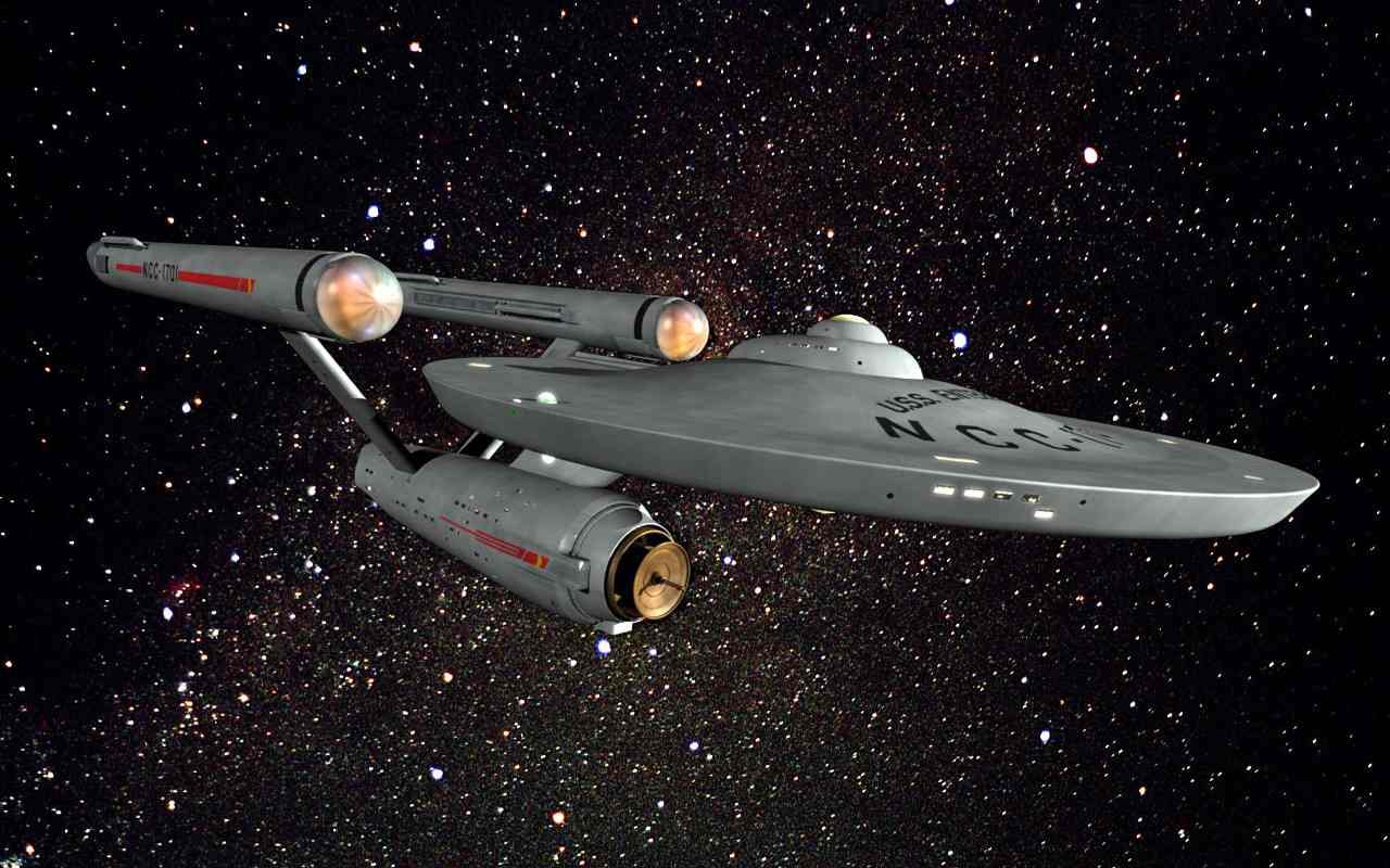 The Star Ship Enterprise - Star Trek gaming at Council of Five Nations adventure gaming convention