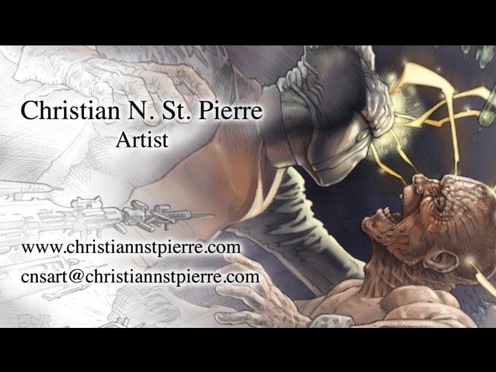 Christian N. St. Pierre - Artist
