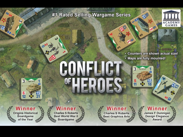 Academy Games: Conflict of Heroes
