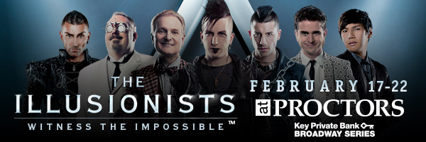 The Illusionists at Proctors